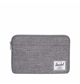 Herschel Supply Herschel Supply Anchor Computer sleeve 12 Inch - Raven Crosshatch