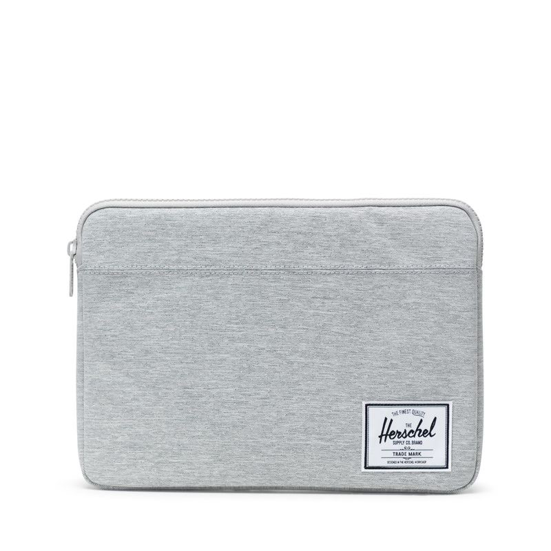 3efa5b572370 Herschel Supply Anchor Computer sleeve 13 Inch (Oct 2016) - Light Grey  Crosshatch