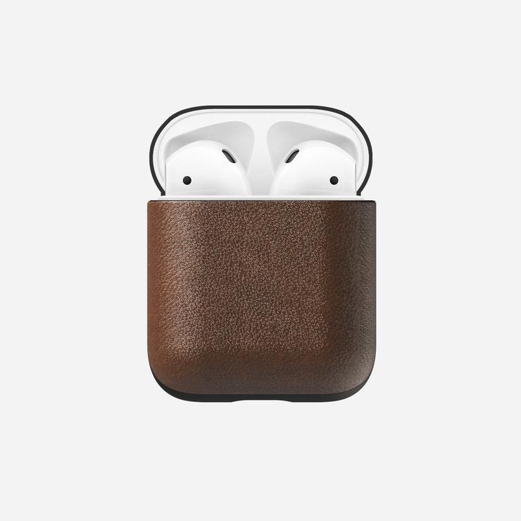 Nomad Nomad Rugged Leather Case for AirPods - Brown