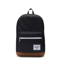 Herschel Supply Herschel Supply Pop Quiz BackPack - Black / Saddle Brown