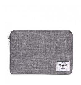 57ff2cff7d44 Herschel Supply Herschel Supply Anchor Computer sleeve 13 Inch -Raven  Crosshatch