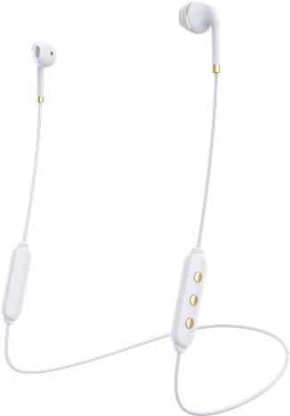 Happy Plugs Happy Plugs Earbud Plus Wireless II - White / gold