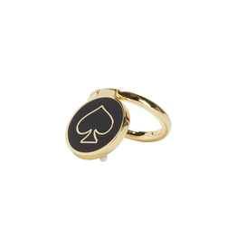 kate spade new york kate spade Stability Ring - Gold / Black Enamel