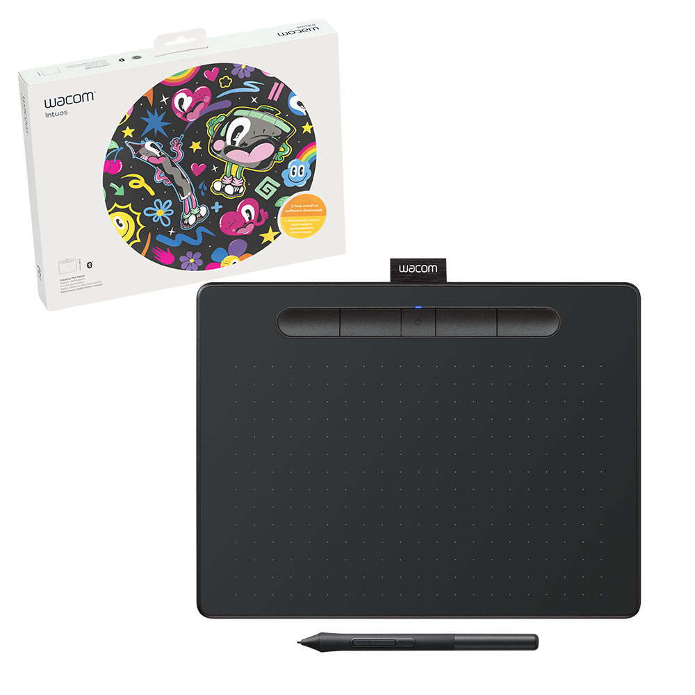 Wacom Creative Pen Tablet Bluetooth - Medium Black