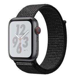 Apple AppleWatch Nike+ Series4 GPS+Cellular, 44mm Space Grey Aluminium Case with Black Nike Sport Loop