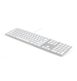 LMP USB Full-Size Mac Keyboard - Silver