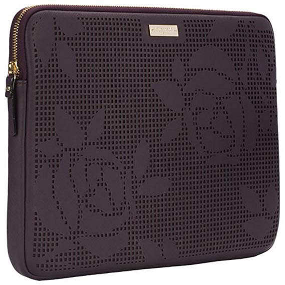 """separation shoes 923ac 4ba03 kate spade new york kate spade Sleeve for 13"""" Macbook - Perforated Rose /  Mahogany"""