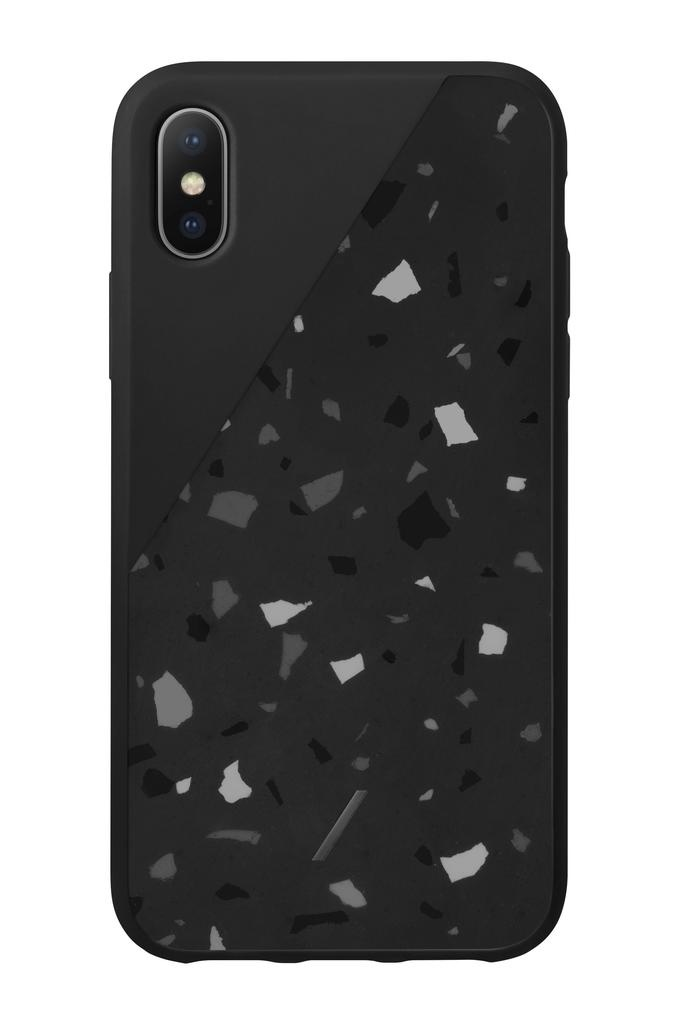 Native Union Native Union Clic Terrazzo Case for iPhone XS/X - Black