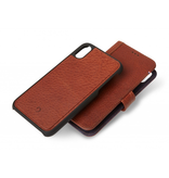 Decoded Decoded 2-in-1 Wallet Caser for iPhone XS Max -Cinnamon Brown