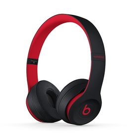 Beats Beats Solo3 Wireless On-Ear Headphones - Defiant Black / Red