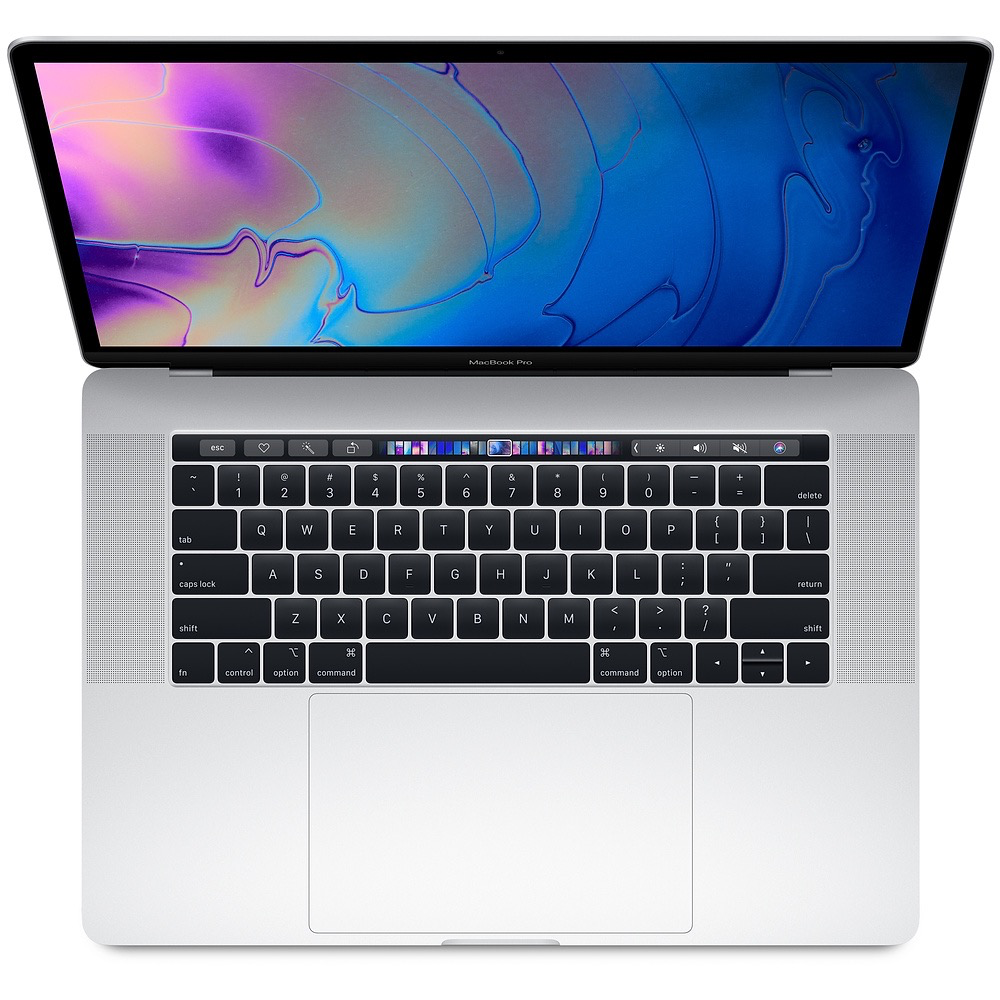 Apple 15-inch MacBook Pro with Touch Bar: 2.2GHz 6-core 8th-gen i7, 16GB, 256GB SSD, Radeon Pro 555X 4GB - Silver