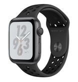 Apple AppleWatch Nike+ Series4 GPS, 44mm Space Grey Aluminium Case with Anthracite/Black Nike Sport Band