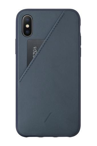 Native Union Native Union Clic Card Case for iPhone XS Max - Navy
