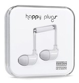 Happy Plugs Happy Plugs In-Ear with Remote & Mic - White