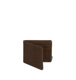 Herschel Supply Herschel Supply Roy Leather Wallet + Tile - Brown Pebble