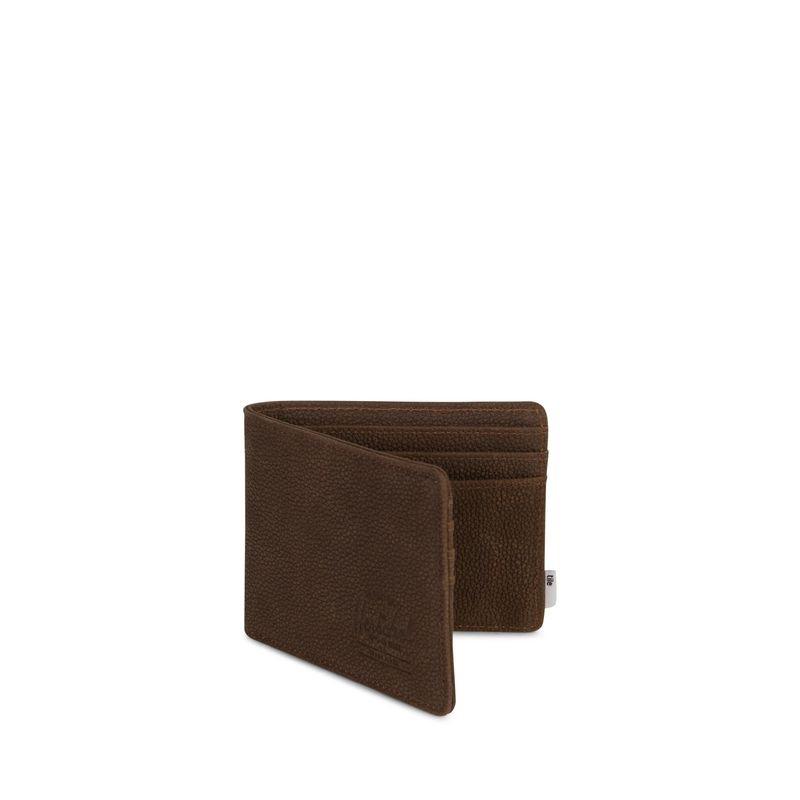 Herschel Supply Herschel Supply Roy Leather Wallet + Tile - Brown Pebble