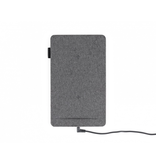 Tylt Tylt Mat with Qi Charging for Two devices - Grey Fabric