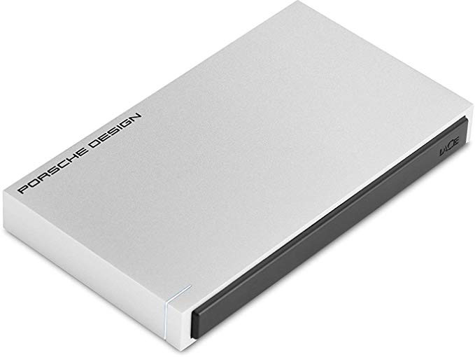Lacie LaCie 2TB Porsche Mobile Drive USB 3.0 & USB-C - Silver