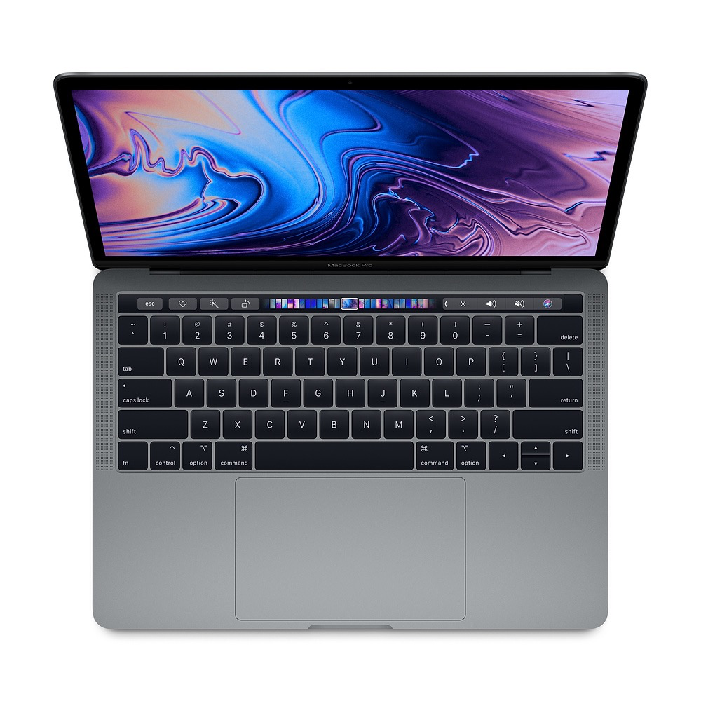 Apple 13-inch MacBook Pro with Touch Bar: 2.3GHz quad-core 8th-gen i5, 8GB, 512GB SSD - Space Gray