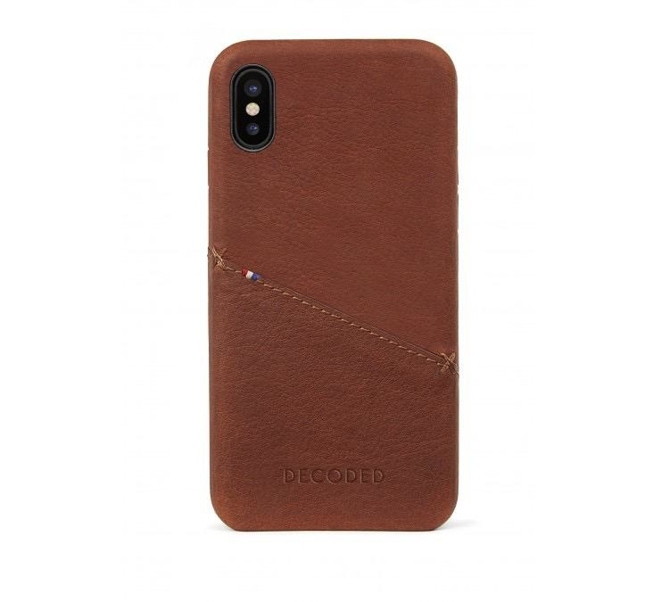 Decoded Card Case for iPhone XS/X - Cinnamon Brown