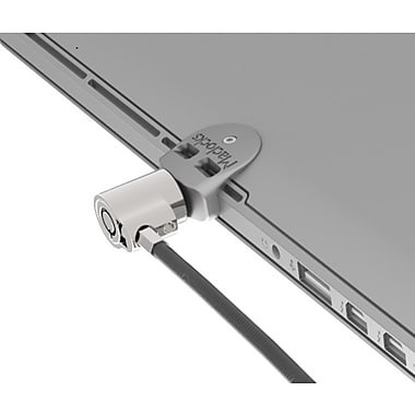 Maclocks Ledge MacBook Pro Retina Lock with Slot Adapter and Keyed Lock