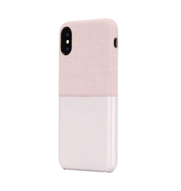 Incase Textured Snap Case for iPhone XS/X - Rose Gold