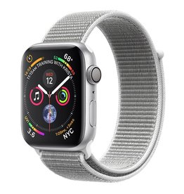 Apple Apple Watch Series 4 GPS, 44mm Silver Aluminium Case with Seashell Sport Loop