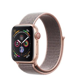 Apple Apple Watch Series 4 GPS + Cellular, 40mm Gold Aluminium Case with Pink Sand Sport Loop