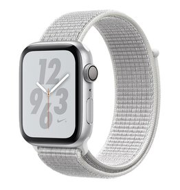 Apple Apple Watch Nike+ Series 4 GPS, 44mm Silver Aluminium Case with Summit White Nike Sport Loop
