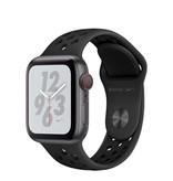 Apple AppleWatch Nike+ Series4 GPS+Cellular, 40mm Space Grey Aluminium Case with Anthracite/Black Nike Sport Band