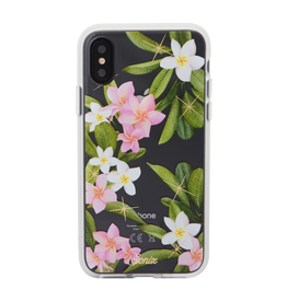 Sonix Sonix  Clear Coat Case for iPhone XS/X - Plumeria