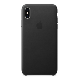 Apple Apple iPhone XS Max Leather Case - Black