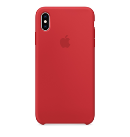 Apple Apple iPhone XS Max Silicone Case - (PRODUCT)RED
