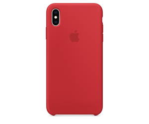 the latest a690a cf9b3 Apple Apple iPhone XS Max Silicone Case - (PRODUCT)RED
