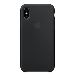 Apple Apple iPhone XS Silicone Case - Black