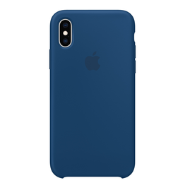 Apple Apple iPhone XS Silicone Case - Blue Horizon