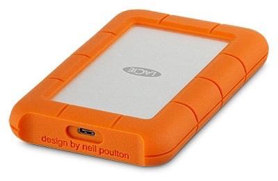 Lacie LaCie 2TB Rugged Mobile Drive USB-C / USB 3.0