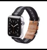 TOMS Apple Watch 38mm Utility Band - Black Stripe