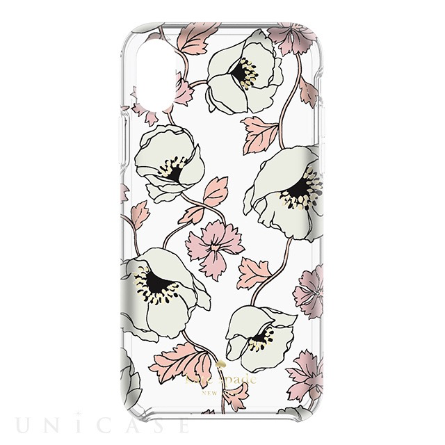 kate spade new york kate spade Hardshell Case for iPhone X - Dreamy Floral Cream