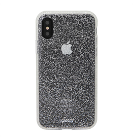Sonix Sonix  Glitter Series Case for iPhone XS/X - Silver Glitter