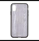 Bondir Clear Coat Case for iPhone XR - Wood Grain