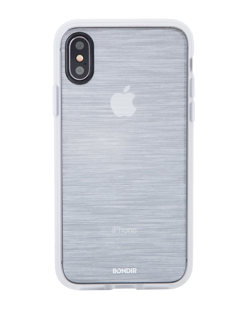 Bondir Clear Coat Case for XS/X - Mist Silver