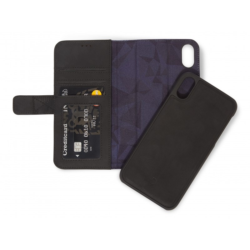 low priced 9c719 1a900 Decoded 2-in-1 Wallet Case for iPhone XR - Black