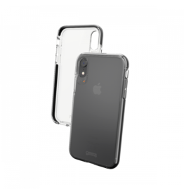 Gear4 D30 Piccadilly Case for iPhone XR - Clear / Black