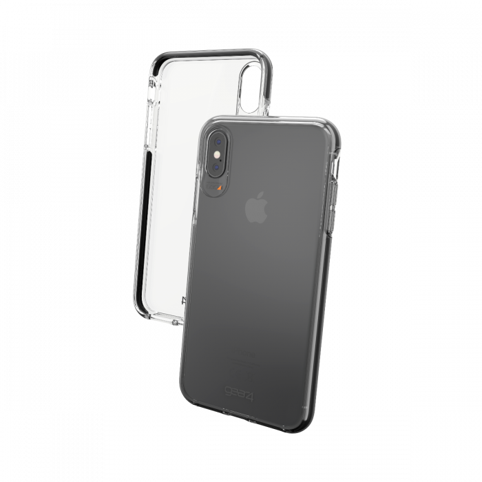 Gear4 D30 Piccadilly Case for iPhone XS Max - Clear / Black