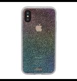 Sonix Sonix  Clear Coat Case for iPhone XS Max - Rainbow Glitter