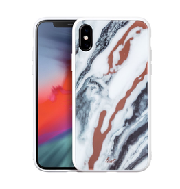 LAUT Mineral Glass Case for iPhone XS Max - Black