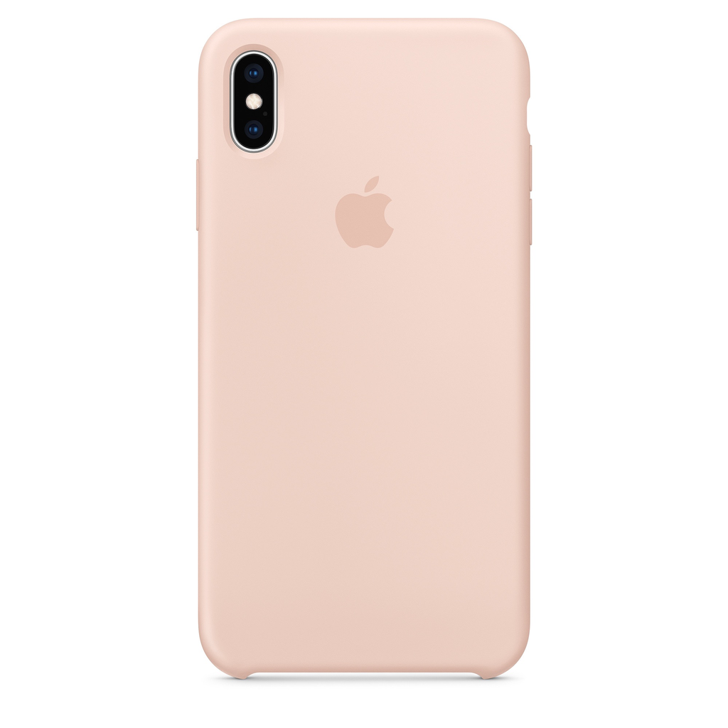 best service 0a9d2 7ee42 Apple Apple iPhone XS Max Silicone Case - Pink Sand