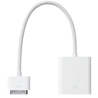 Apple Apple iPad 30 Pin Dock Connector to VGA Adapter