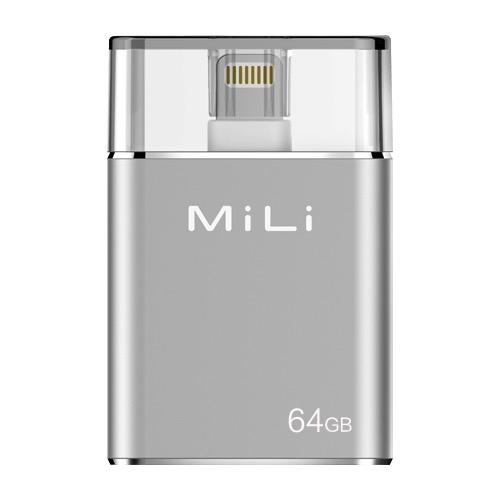 MiLi iData Pro Flashdrive 64GB - Silver